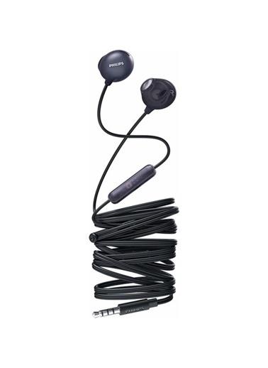 Philips She2305Bk/00 Upbeat Mıkrofonlu Kulakıcı Kulaklık Siyah Siyah